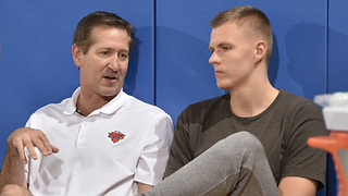 "Knicks Coach Tells Kristaps Porzingis to ""Stop Playing Like a P*SSY"" - Video"