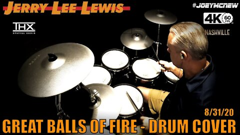 Jerry Lee Lewis - Great Balls Of Fire - Drum Cover (THX) 🔥🔥🔥