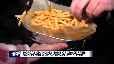 HopCat changing name of Crack Fries because of 'lasting impact of crack epidemic'