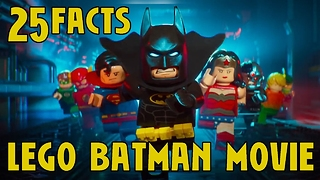 25 Facts About Lego Batman - Video