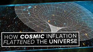 How Cosmic Inflation Flattened the Universe