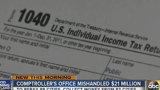 Maryland comptroller's office mishandled $21 million in income tax payments - Video