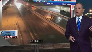 Warming Overnight With Valley Rain - Video