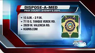 PCSD holds Dispose-A-Med event at two Tucson Walgreens locations - Video