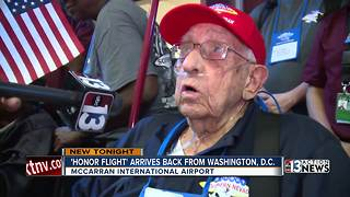 Veterans return to Las Vegas from D.C.