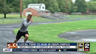 Brady Perry gearing up for Deaflympics - Video