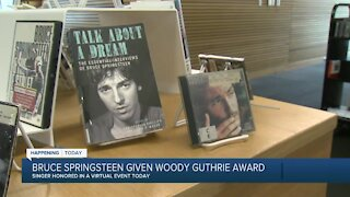 Bruce Springsteen to accept the 2021 Woody Guthrie Prize