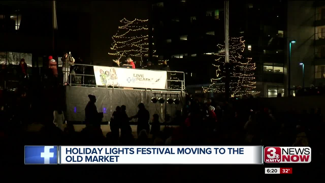 Holiday Lights Festival Moving to the Old Market