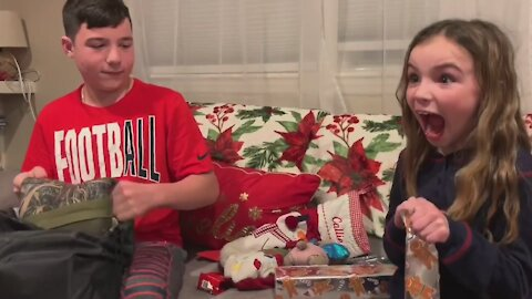 Opening Gifts Reactions