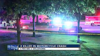 2 killed in motorcycle crash on I-794 - Video