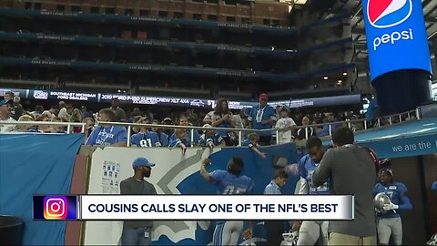 Kirk Cousins calls Darius Slay one of NFL's best