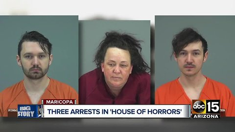 Maricopa police arrest woman for abusing 7 adopted children