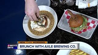 Axle Brewing Co. expands menu at Livernois Tap - Video
