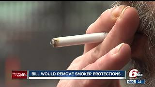 Group wants to remove bill that gives smokers legal protections in Indiana - Video