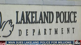Polk County man suing Lakeland Police for millions - Video