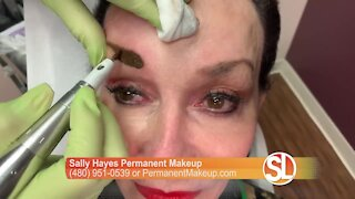 Sally Hayes can help you wake up beautiful with permanent makeup!