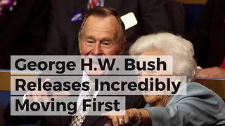 George H.W. Bush Releases Incredibly Moving First Statement After Wife's Death