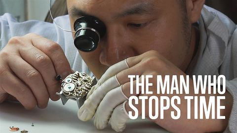 Meet the man who stops time