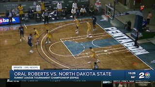 ORU Basketball wins Summit League Tournament Championship