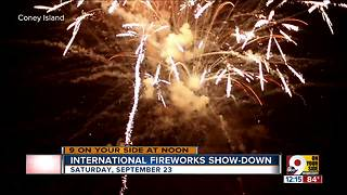 Fire Up the Night at Coney Island September 23, 2017 - Video