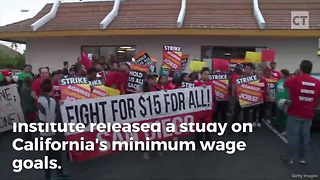 Told You So: Calif. to Lose 400,000 Jobs After Demanding $15 Min. Wage - Video
