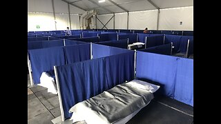 City of Las Vegas gives inside look at temporary isolation shelter ahead of opening