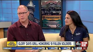 Glory Days Grill Honoring 10 fallen soldiers