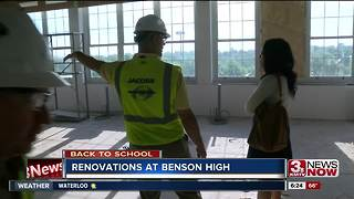 Benson High gives sneak-peek of renovations - Video