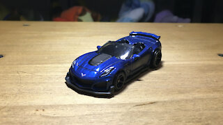 Awesome Hot Wheels Car '19 Corvette ZR1 (C7) (2020 Mainline Livery)