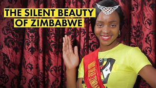 Outrage: Miss Deaf Zimbabwe awarded pennies - Video