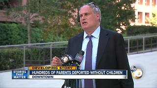 Hundreds of parents deported without children - Video