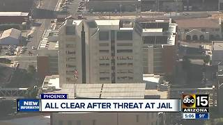 Lockdown lifted at 4th Avenue Jail - Video