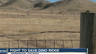 Fight to save Dinosaur Ridge - Video