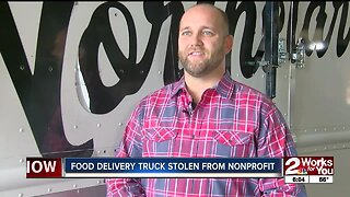 Food delivery truck stolen from nonprofit