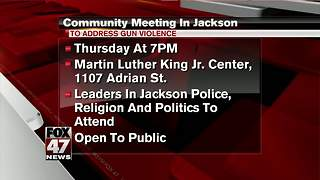 Meeting scheduled Thursday to discuss rash of gun violence in Jackson - Video