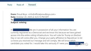 Threatening emails sent to Democrats in Charlotte County