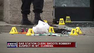 Suspect shot in attempted gas station robbery