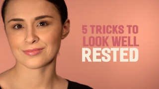 5 Tricks To Look Rested - Video
