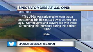 94-year-old dies at the U.S. Open - Video