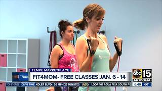 Try free classes at Fit4Mom in Tempe