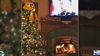 Lucky Packers Christmas trees - Video