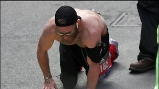 Marine Veteran Micah Herndon Crawls to Boston Marathon Finish Line