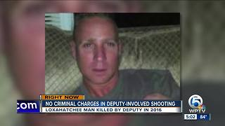 No criminal charges in deputy-involved shooting - Video