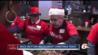 Rock Bottom brewery serves Christmas meals to those in need - Video