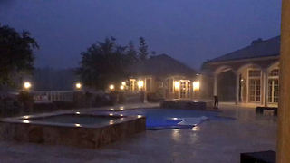 Beautiful Florida Thunder and Lightning Storm at Casa Bella Estate  - Video