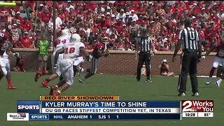Kyler Murray readies for Red River Showdown debut
