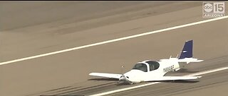 National: Pilot makes perfect belly landing