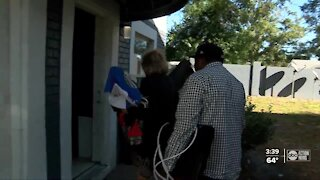 Homeless mother of four receives apartment thanks to community teamwork and support