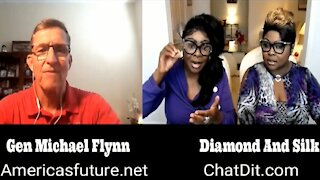 EP 43 | Diamond and Silk talk to General Mike Flynn about the Election and much more
