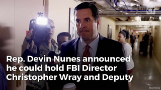 House Intel Chair to Hold FBI Dir. in Contempt Over Anti-Trump Agent